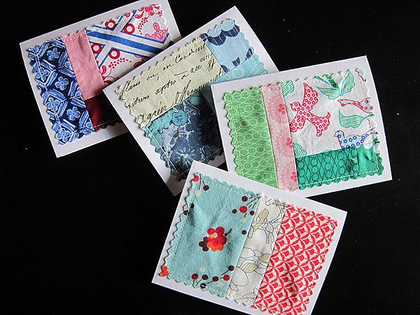 scrappy notecards
