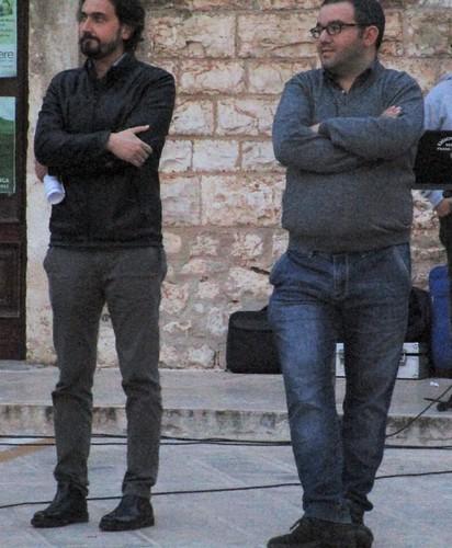 Giovanni Settanni e Sandro Laera