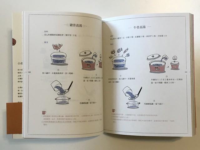 一如過往,小雨麻的書都很像在做實驗操作,前置準備或是現場操作過程都詳細記載,方便不諳廚事的初學者操作@小雨麻的100道馬克杯料理,上桌!