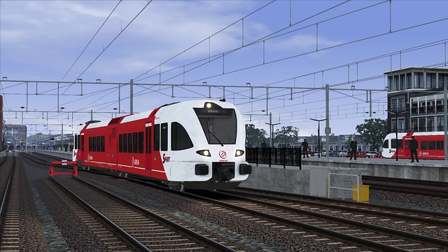 Train Simulator 2016 Arriva GTW station Leeuwarden