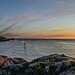 Midnight sun from Senja by John A.Hemmingsen