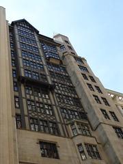 Chicago, DePaul University, Fachwerk Detail