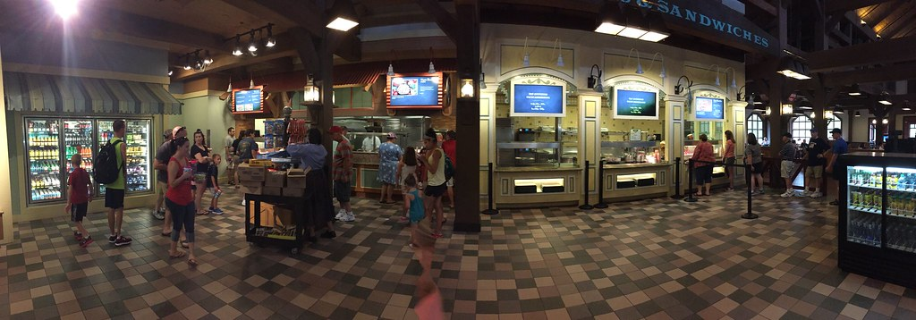 Food Court @ Port Orleans Riverside