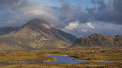 Sunset at Sligachan . . .