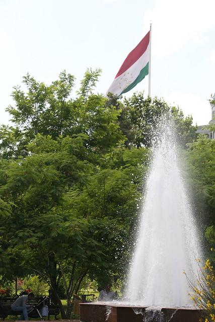 The World's largest flagpole