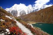 Nepal Trekking round Manaslu. Im Buri Gandaki. Foto: Christine Theodorovics.
