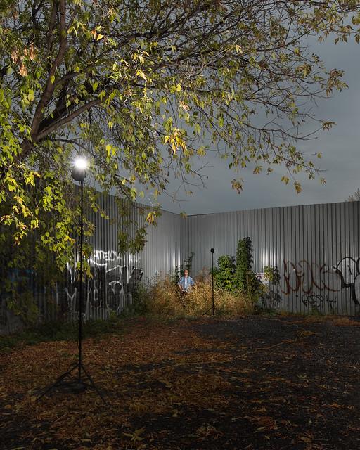 A stranger, Montréal, Lamcom Industrie Parcking lots