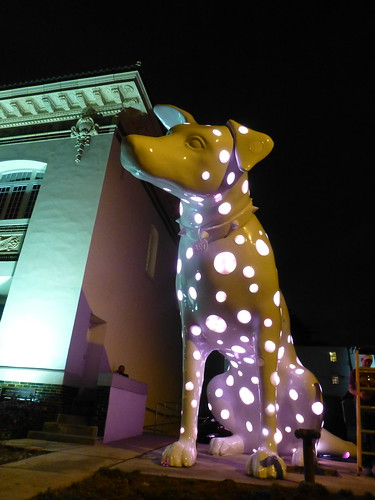20-ft dalmatian, Art, @ Central Artstation, Shreveport