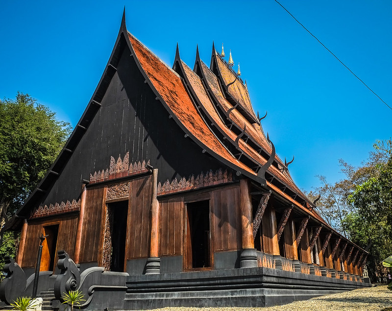 Main Building at Baan Daum/Black House