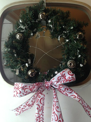 My pagan-ed up wreath