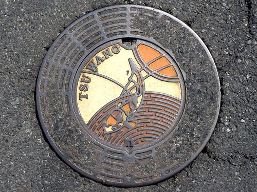 Tsuwano Shimane, manhole cover 2 (島根県津和野町のマンホール2)