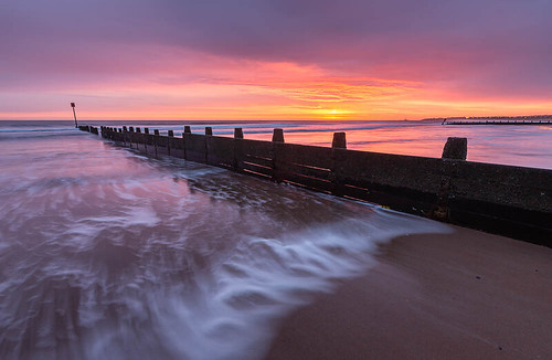 seascape sunrise landscape northumberland blyth northeastengland