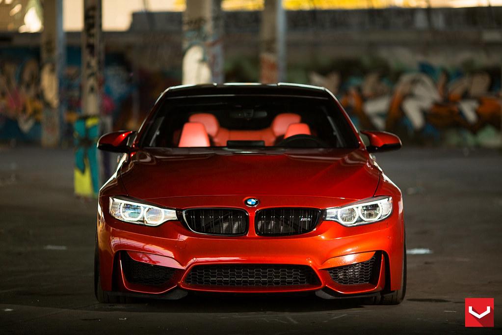 M4 Eye Candy One Impressive Sakhir Orange M4 Bmw News At