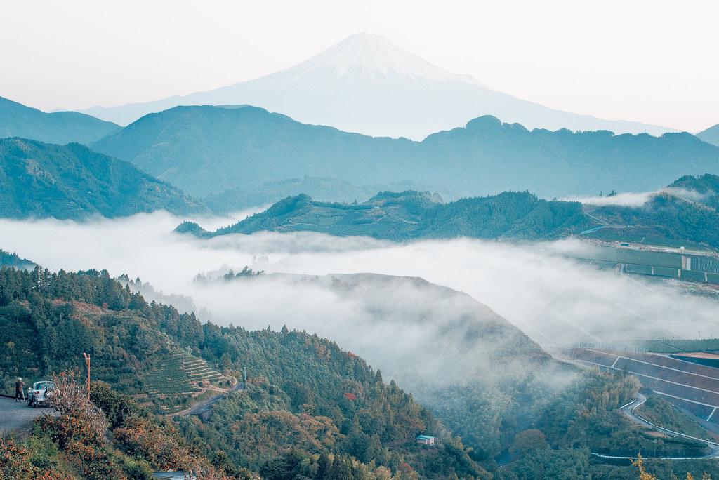 清水吉原の雲海富士山 | Nikon D600 + Ai Nikkor 50mm f/1.2S