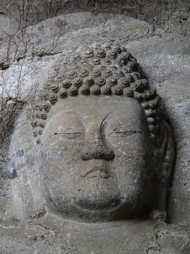Giant carving of Dainichi Nyorai