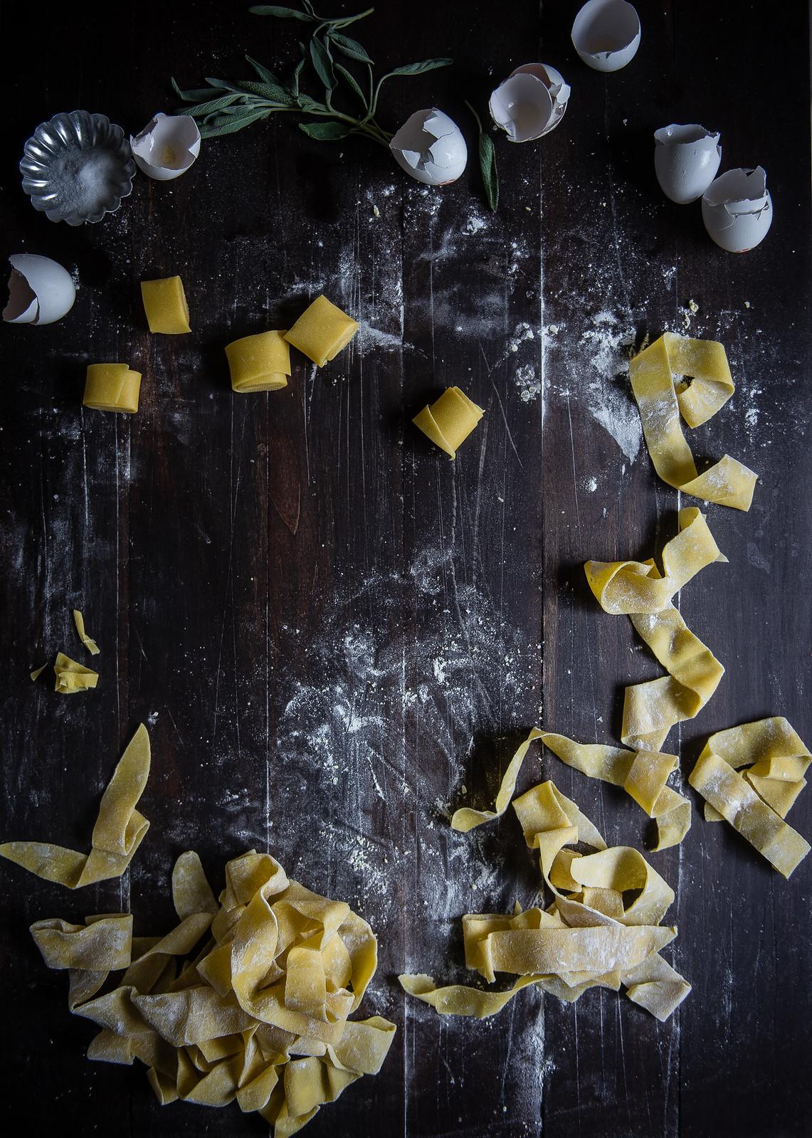 kabocha, sage & creme fraiche pappardelle // a vermont creamery giveaway!