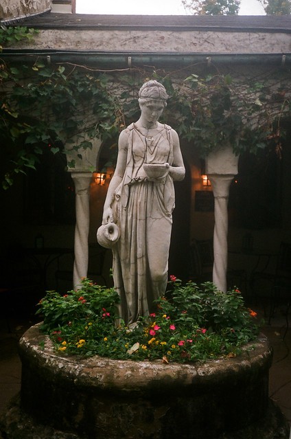 Statue at Mama's