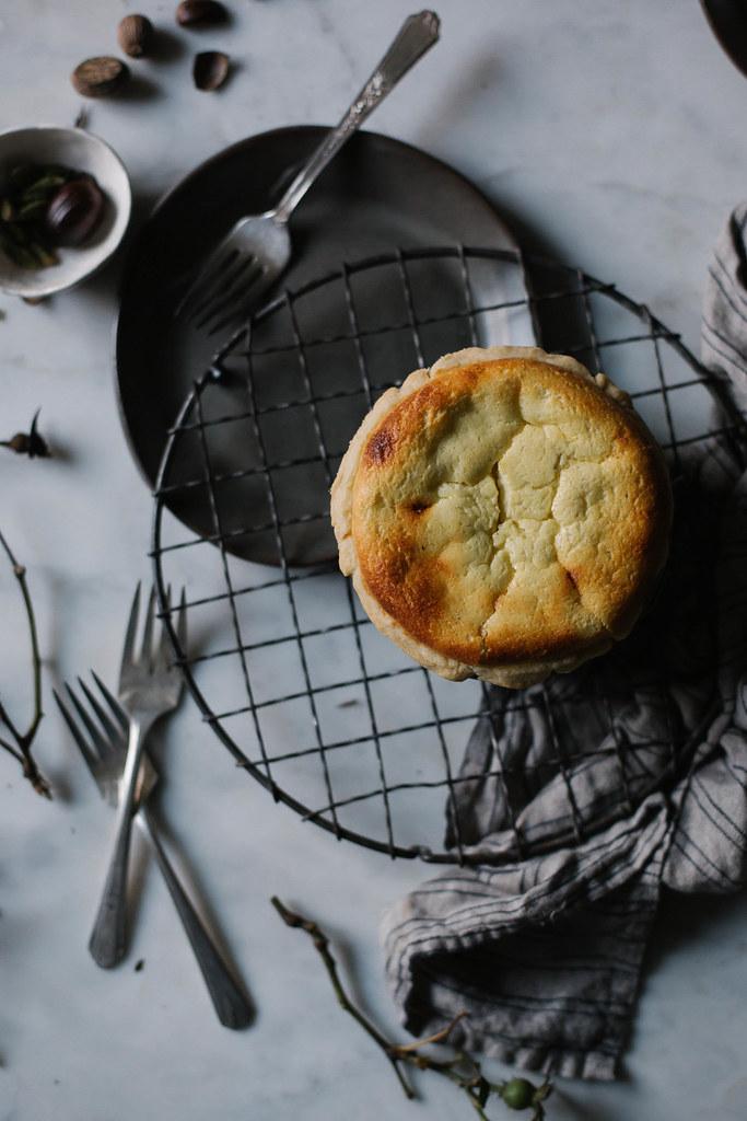 petite crème tart