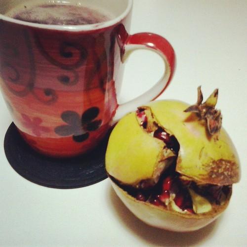 Darjeeling Black Tea with Pomegranate Juice