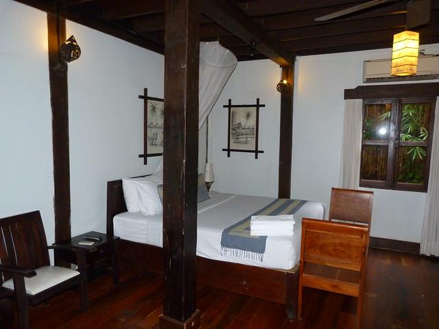 Habitación doble de Le Bel Air (Luang Prabang, Laos)