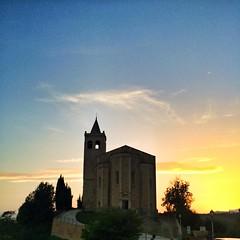 Chiesa di Santa Maria della rocca di #offida #ilikemarche