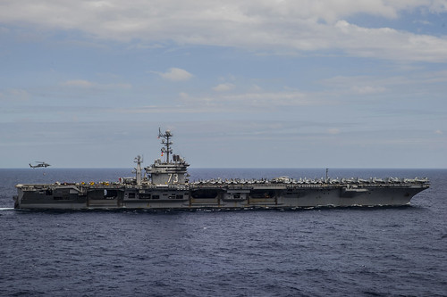George Washington Strike Group Arrives in Guam