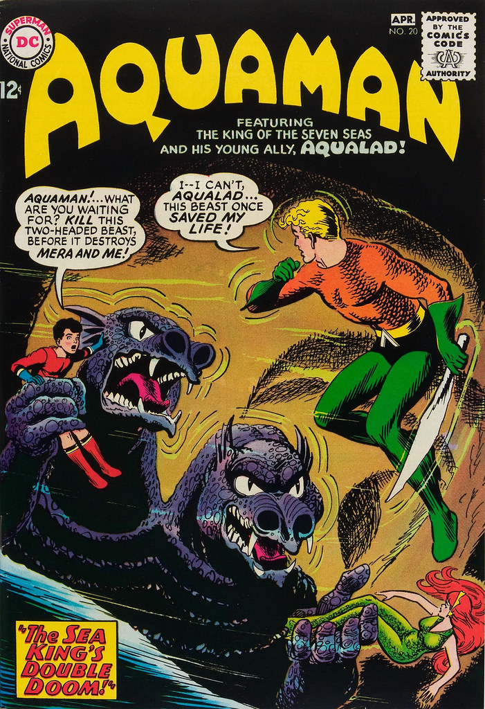 Aquaman #20 (DC, 1965) Nick Cardy Cover