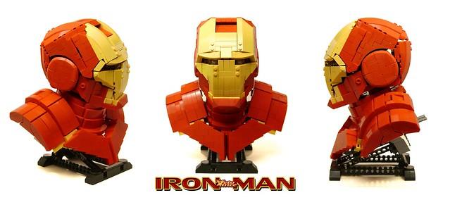 IronMan Bust - 3