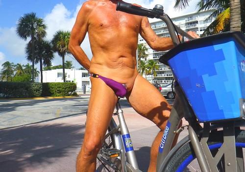 purple asym bike
