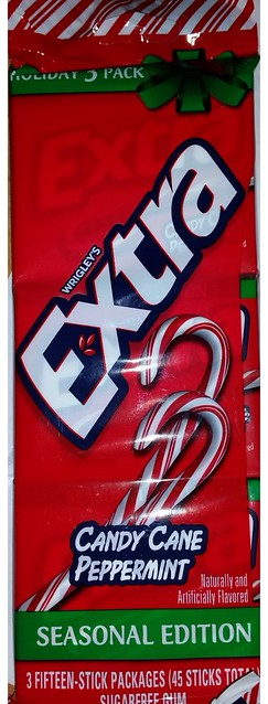 Wrigley's Extra Seasonal Edition Candy Cane Peppermint Gum