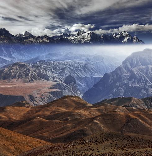 nepal canon landscape