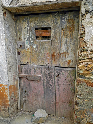 A Door On an Abandoned Building Spain
