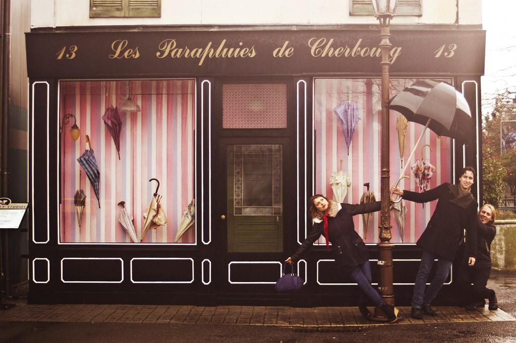 Walt Disney Studios Paris Disneyland umbrellas of cherbourg