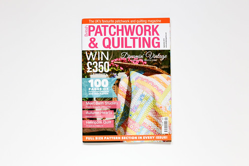 British Patchwork & Quilting - Sept. 2014