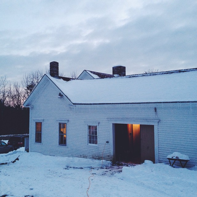 It was lovely spending time in this old farmhouse, today, amongst good folks.
