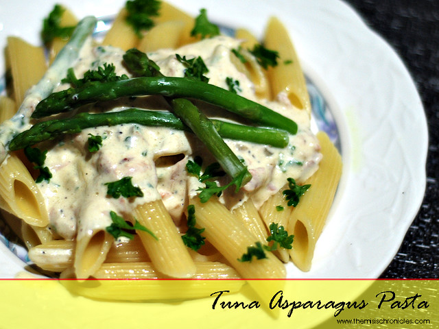 In the Kitchen | Tuna Asparagus Pasta