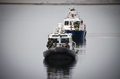 Harbor Police Department Showcases New Tactical Training Vessel