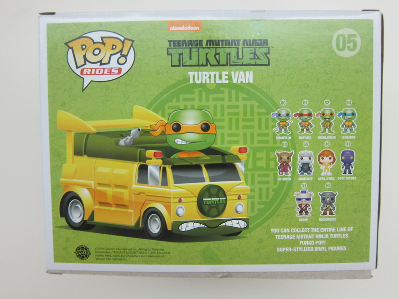 Funko Pop - Turtle Van - Back