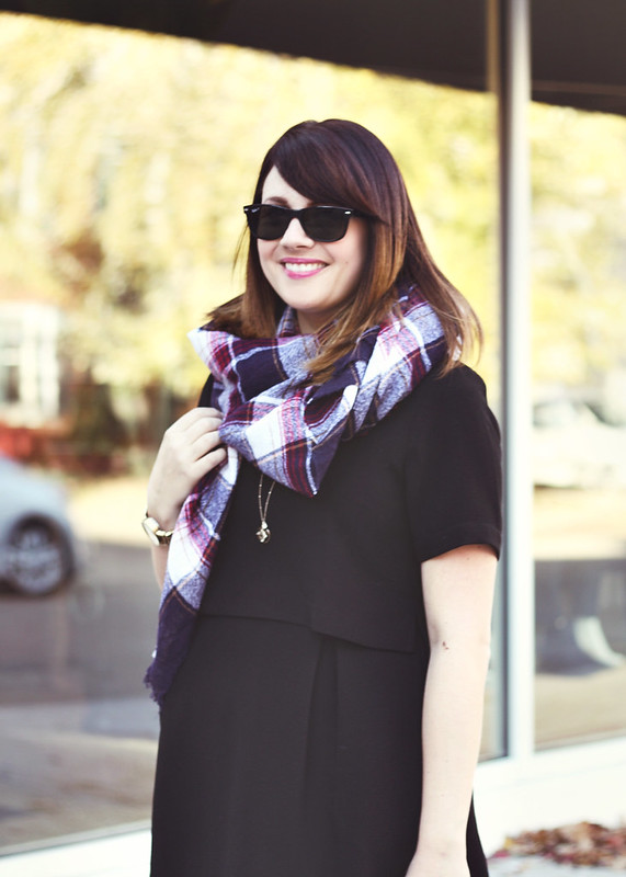 Madewell Dress + Scarf5