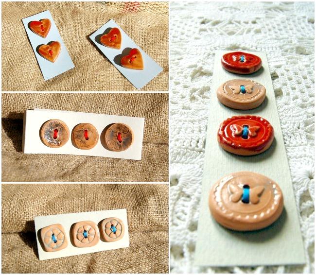 bottoni di ceramica