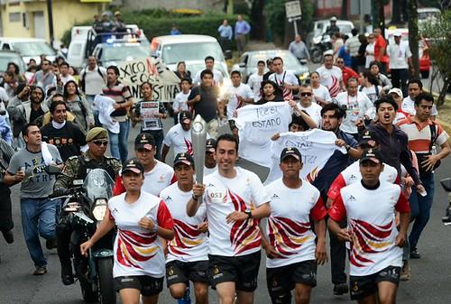 Protesta por Ayotzinapa