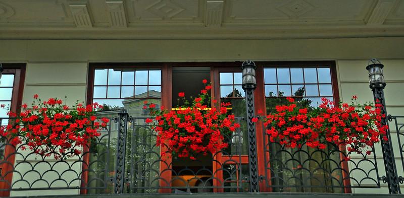 Karlovy Vary Flower Boxes