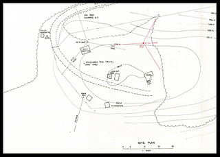 Plan of Tokoroa Mobile Telephone Control Station (1975)