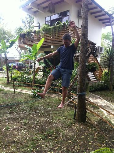 At the hostel - Ayampe, Ecuador