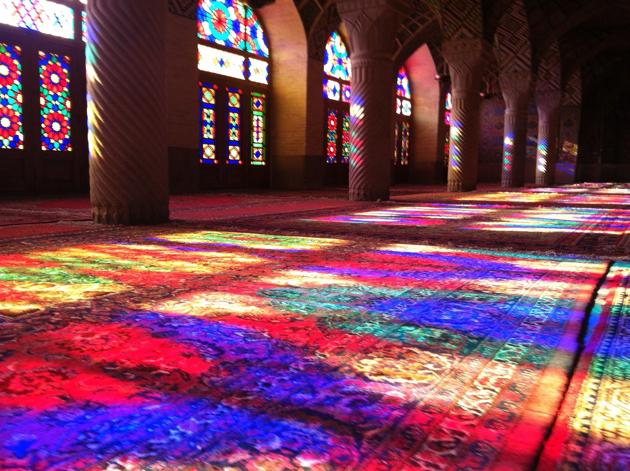 Nasir Al-Mulk (The Pink) Mosque, Shiraz, Iran