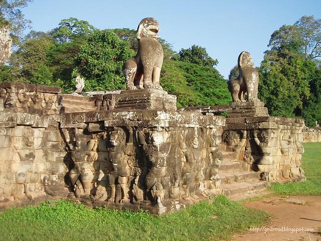 Ангкор Том, Камбоджа