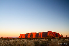 Sunrise on Uluru Ayers Rock