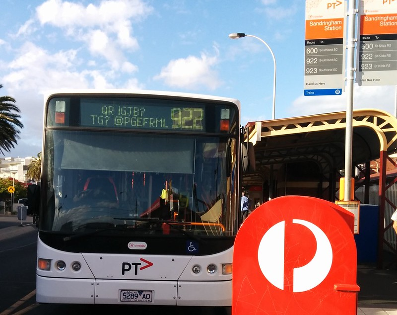 "Transdev: Is this Klingon for ""St Kilda via Elwood""?"