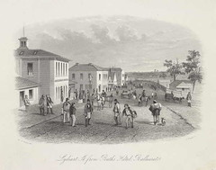Lydiard St from Bath's Hotel (1857)