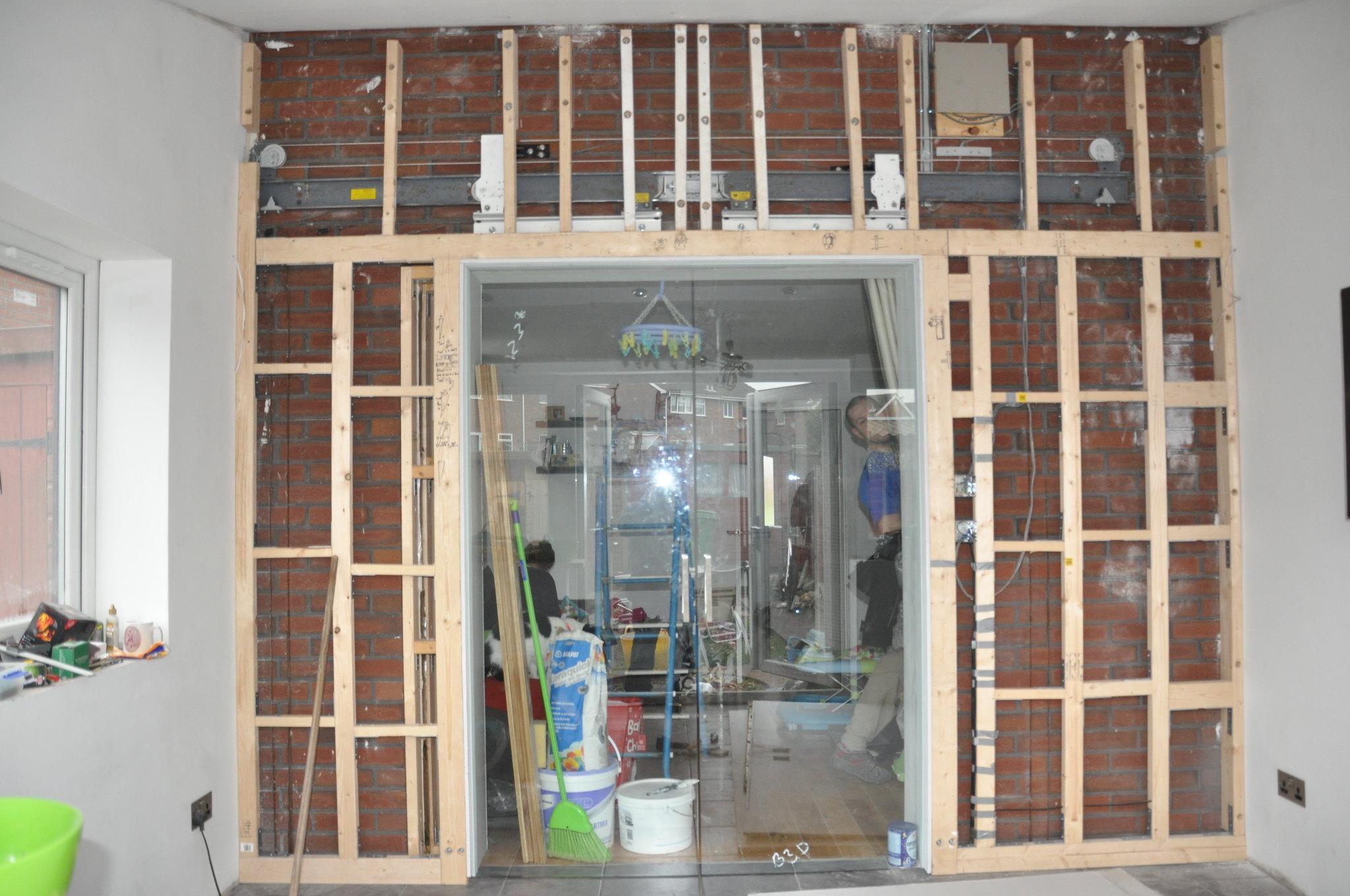 Sliding pocket doors yone installed one Singletrack Forum